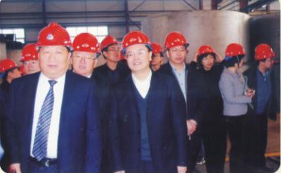 国务院微小企业第四调研组组长庄聪生一行来公司视察