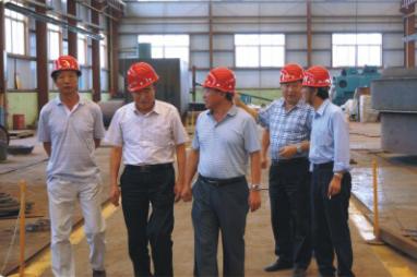 中国糖业协会副理事长贾志忍一行来公司视察
