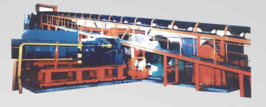 矿用大倾角及下运带式输送机